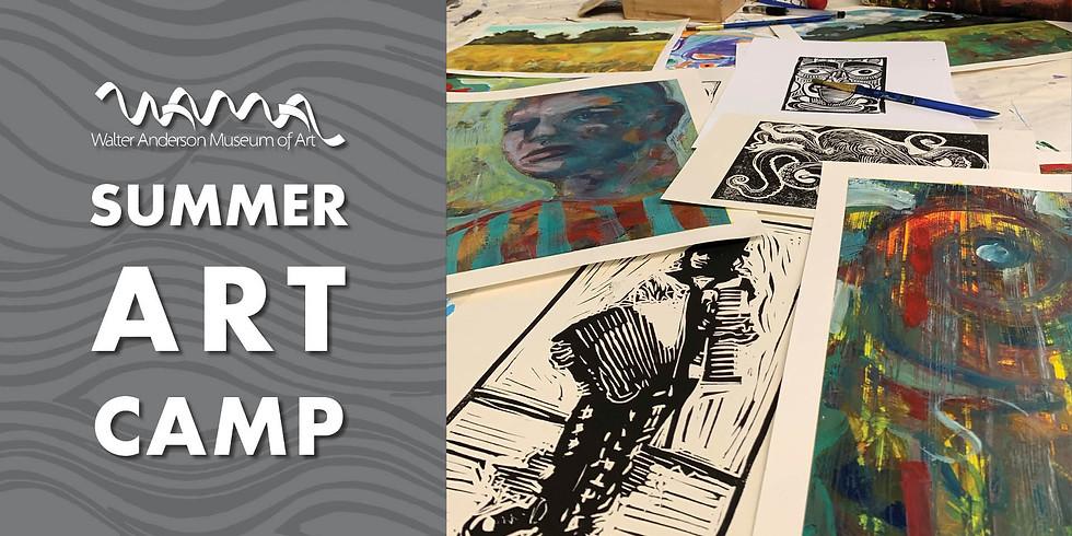 Advanced Art Techniques   Middle - High School (Summer Camp)