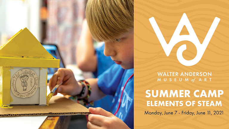 Elements of STEAM | Ages 8-12 Summer Camp