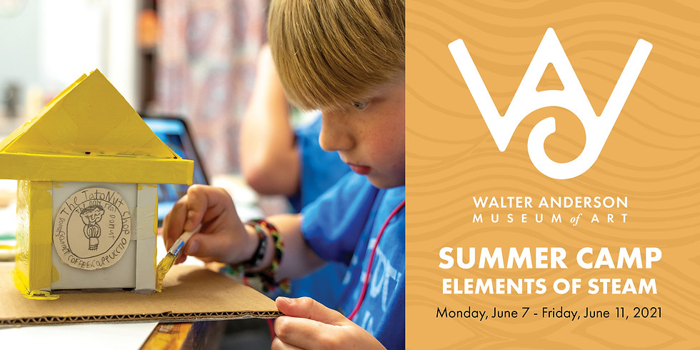 Elements of STEAM   Ages 8-12 Summer Camp
