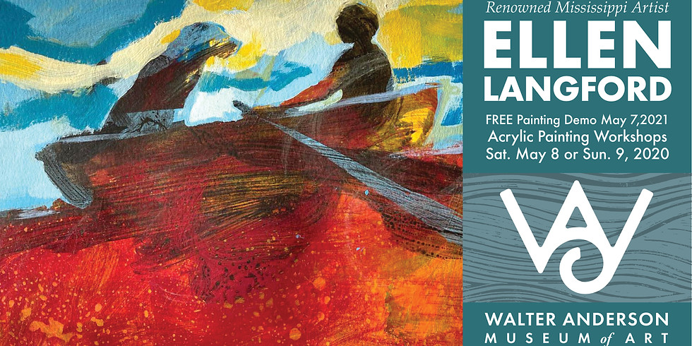 Ellen Langford Painting Demonstration and Lecture