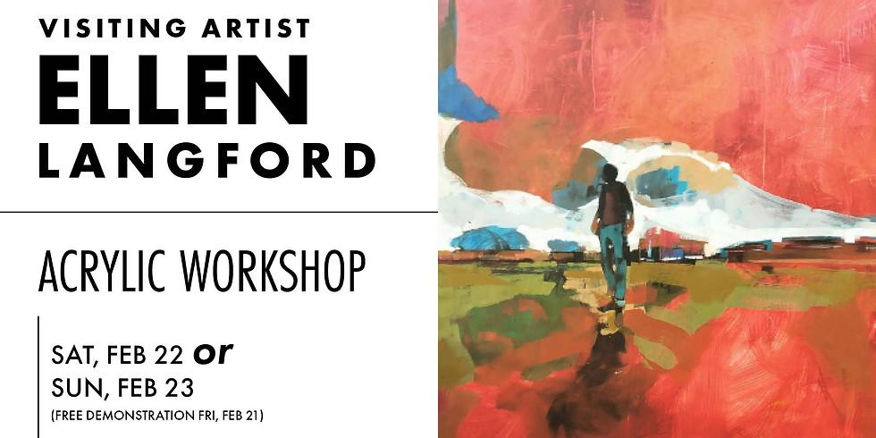 Ellen Langford Acrylic Workshop