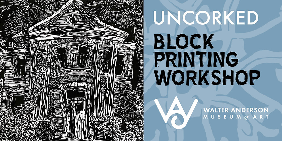 (SOLD OUT) Uncorked - Blockprinting Workshop