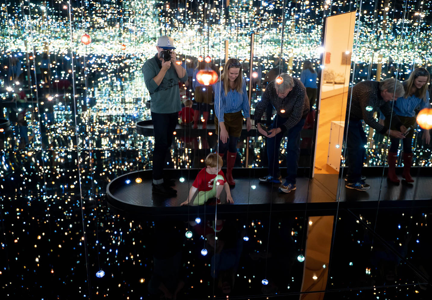 Infinity Mirrored Room—The Souls of Millions of Light Years Away (2013)