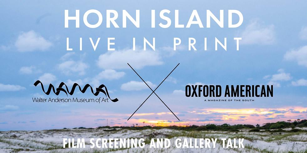 Horn Island | Live in Print
