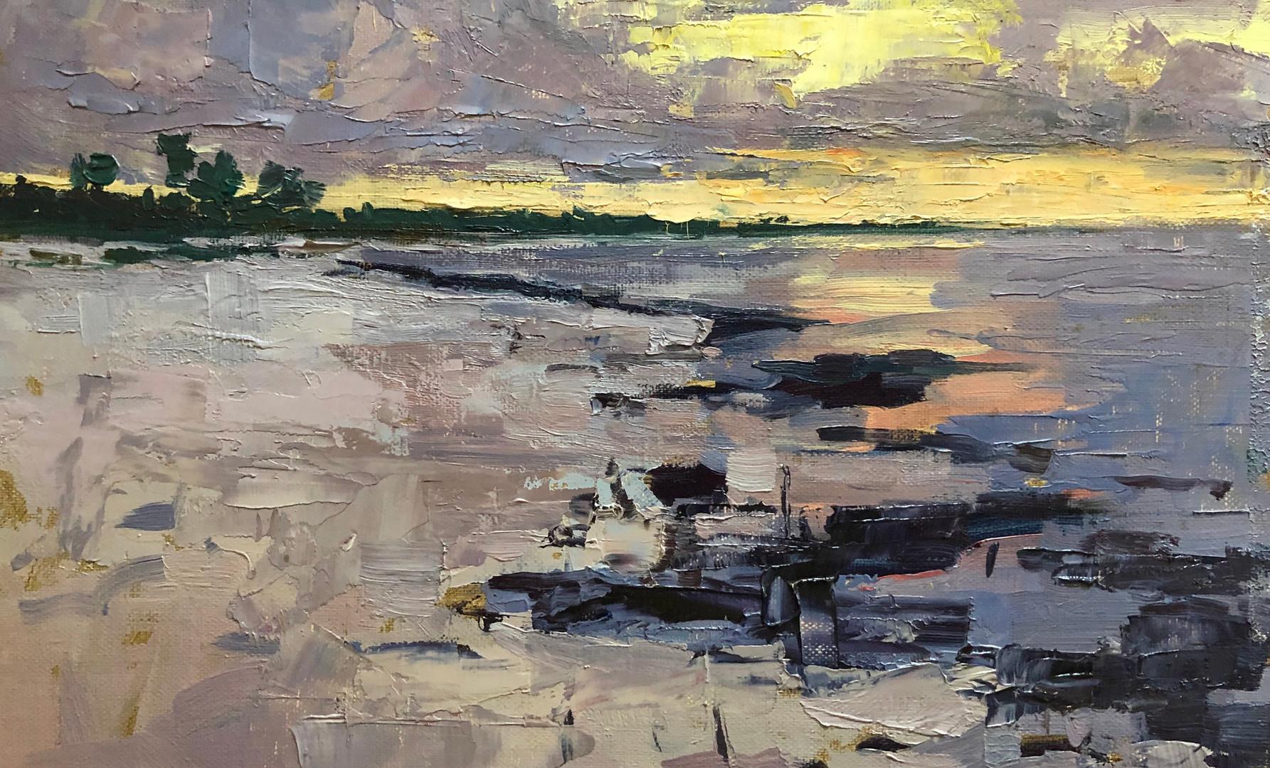 Sunset, North Beach