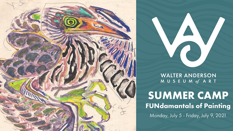FUNdamentals of Painting and Drawing | Ages 10-15 Summer Camp