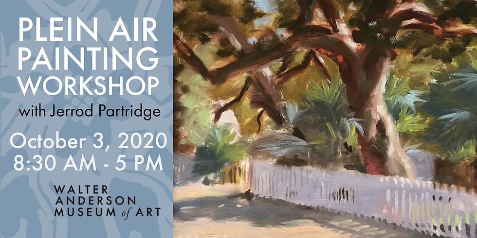 Plein Air Painting Workshop with Jerrod Partridge