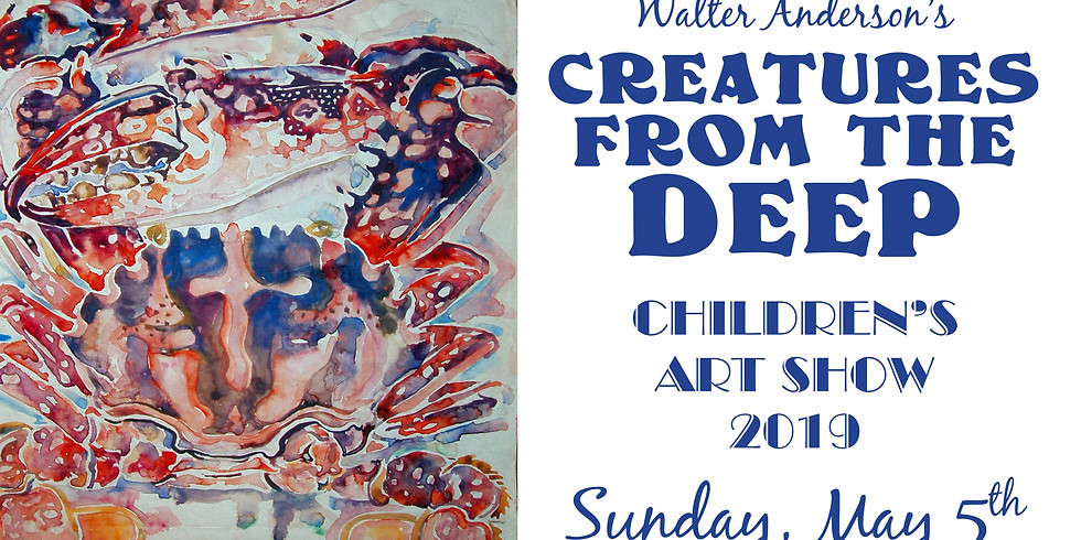 Walter Anderson's Creatures from the Deep Children's Art Show