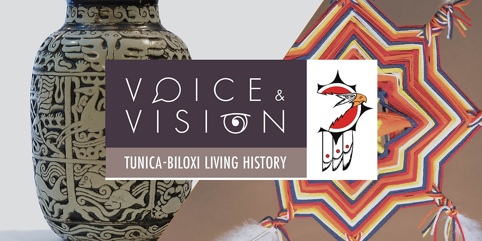 POSTPONED: Voice & Vision: Tunica-Biloxi Living History
