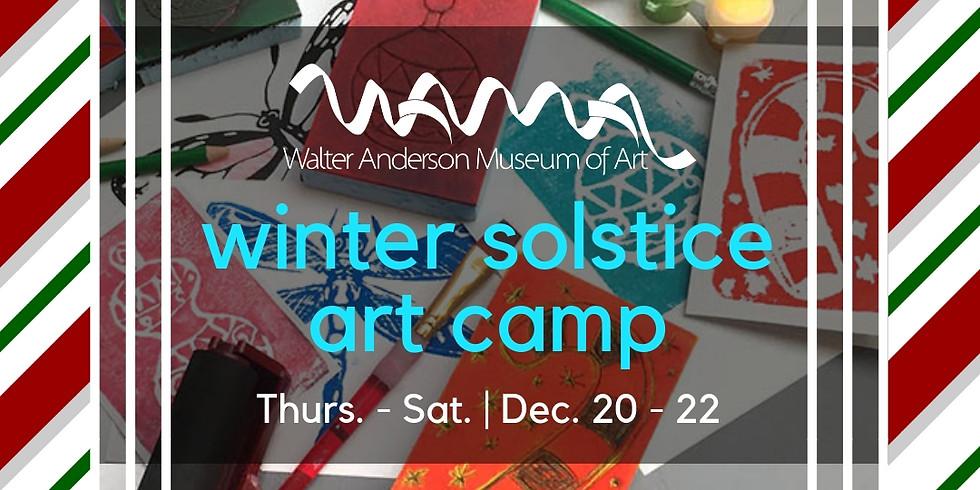 Winter Solstice Art Camp