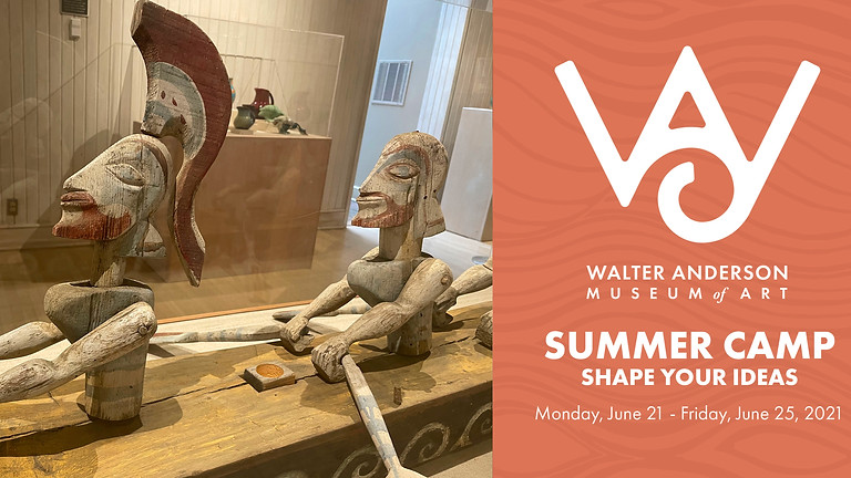 Shape Your Ideas | Ages 8-12 Summer Camp