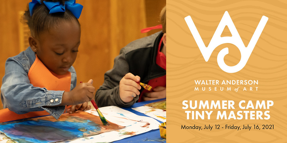(SOLD OUT) Tiny Masters Summer Camp