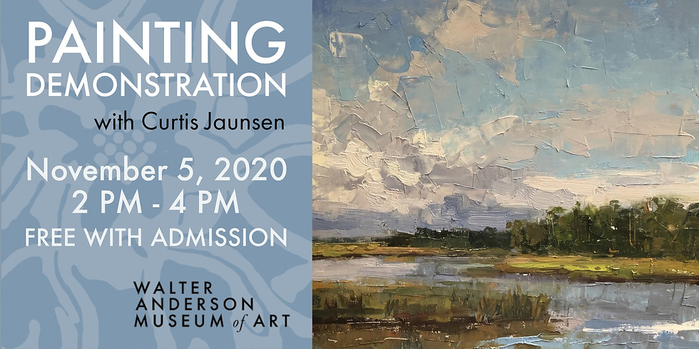 Painting Demonstration with Curtis Jaunsen