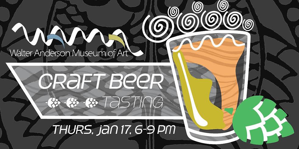 WAMA Craft Beer Tasting