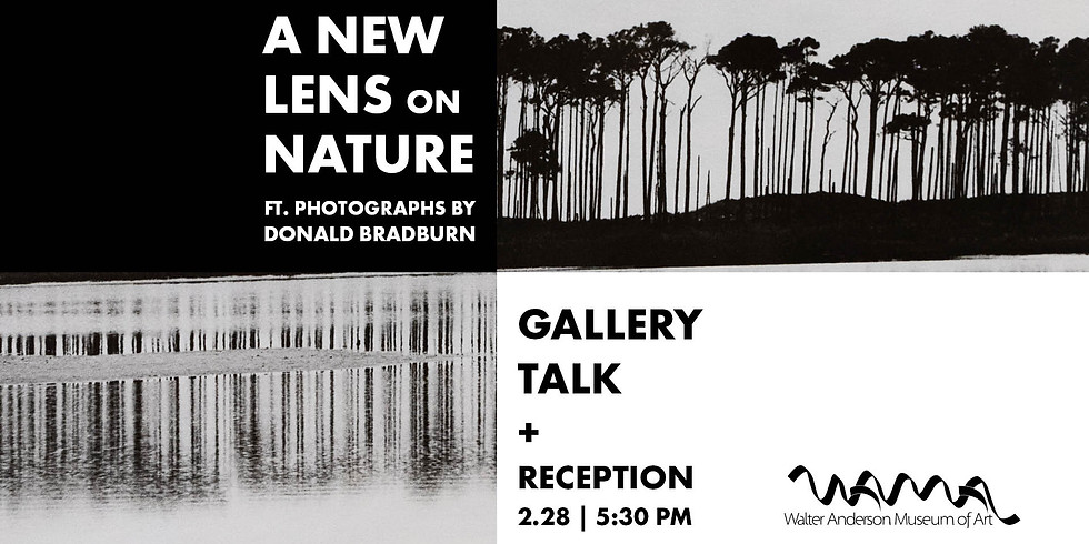 A New Lens on Nature Gallery Talk and Reception