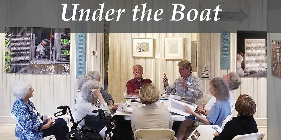 Book Club- Under the Boat