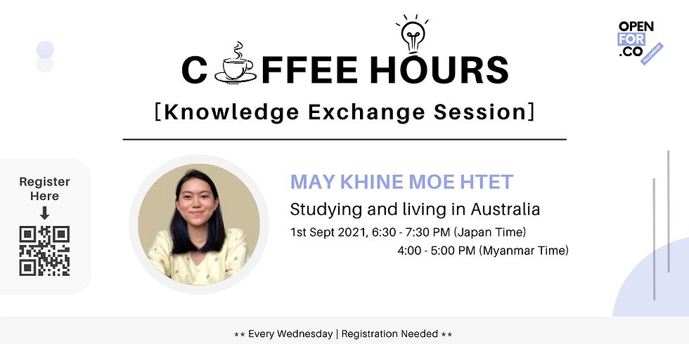 Coffee hours & Knowledge Exchange Session ( Studying and living in Australia)