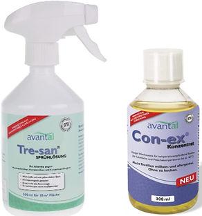 Milbensrpay und Waschmittelzusamtz gegen