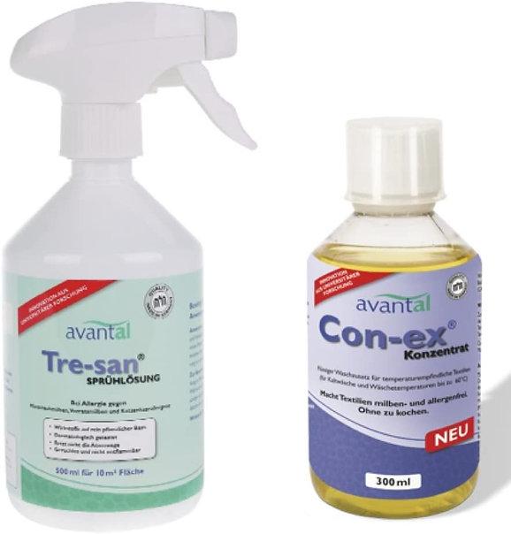 Biologisches Milbenspray und Waschzusatz gegen Hausstaubmilben