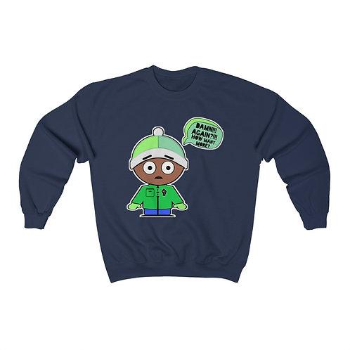 Royyale - Damn, How Many More?!!! Unisex Crewneck Sweatshirt