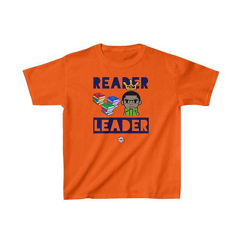 RG Kids   Reader = Leader Kids Tee