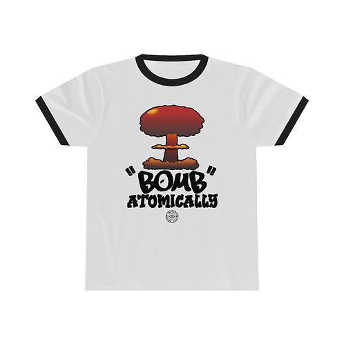 Royyale | I Bomb Atomically Unisex Ringer Tee