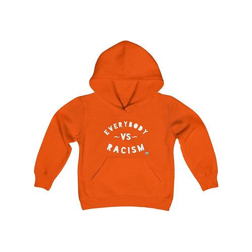 Royyale Gear Kids - Everybody v. Racism Youth Heavy Blend Hoodie