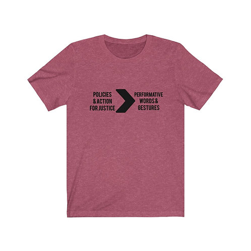 Royyale - Action > Performance Unisex Jersey SS Tee