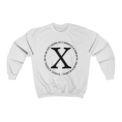 Royyale - X Unisex Crewneck Sweatshirt