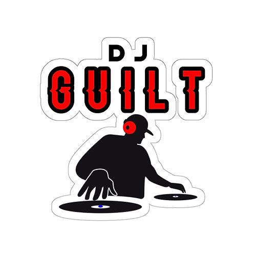 DJ Guilt Stickers