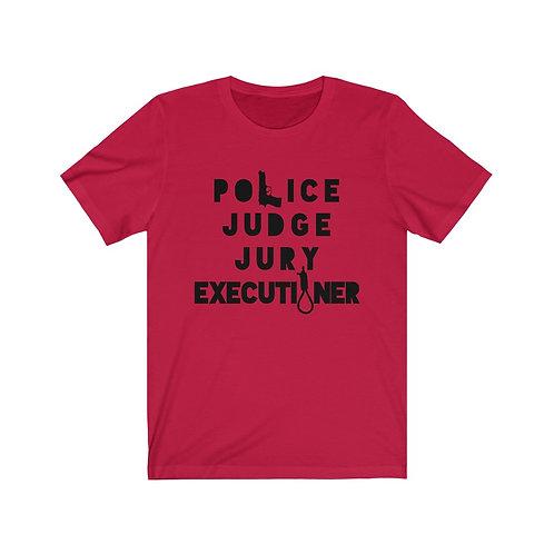 Copy of Royyale   Judge, Jury, Executioner v2.0 Unisex Jersey SS Tee