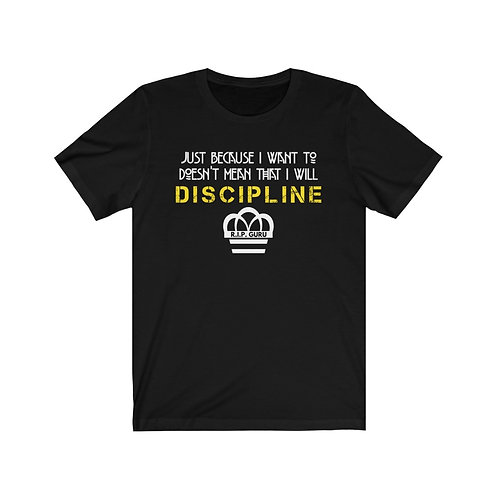 Royyale - Discipline SS Tee (Men's Sizing, Multiple Colors)