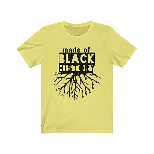 Royyale - Made of Black History Unisex Jersey SS Tee