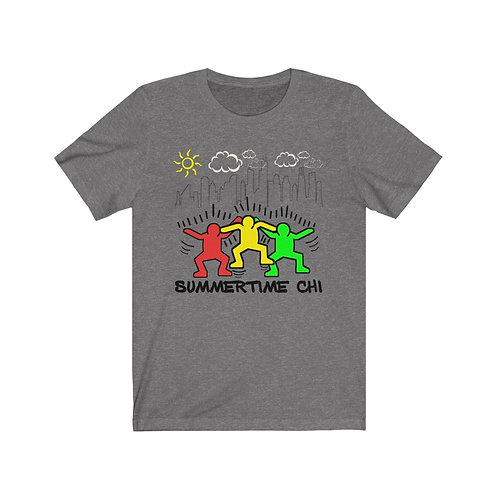 Royyale - Haring Summertime Chi Tribute Unisex Jersey SS Tee