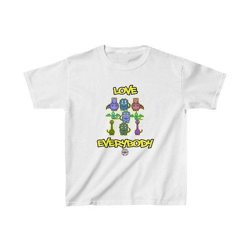 Royyale Kids - Love Everybody! Kids Cotton Tee