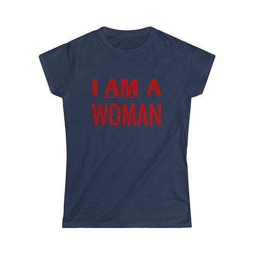 Royyale - I Am A Woman Women's Softstyle Tee