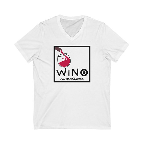 Royyale - Wino Connoisseur  V-Neck Tee