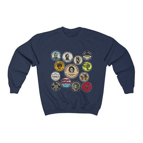 Royyale - Buttons Unisex Crewneck Sweatshirt