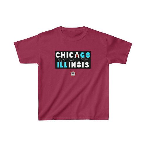 RG Kids   CHICAGO ILL Kids Tee