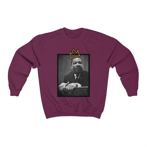 Royyale - Long Live King Martin Unisex Crewneck Sweatshirt