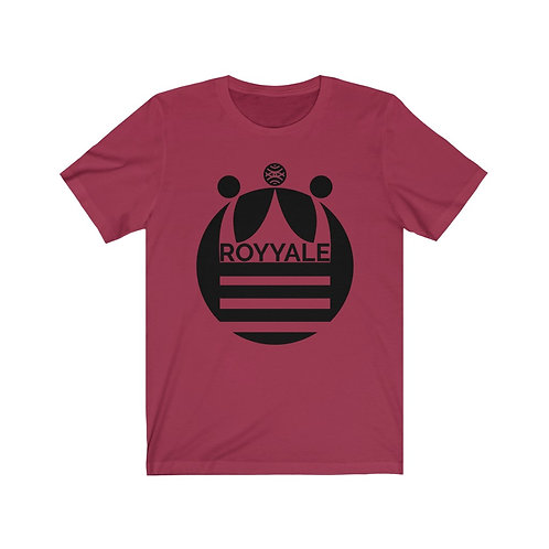 Royyale - Crowned Unisex Jersey SS Tee