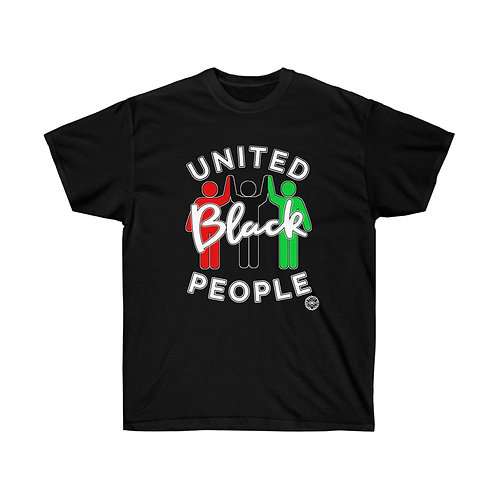 Royyale | United Blk People Ultra Cotton Tee