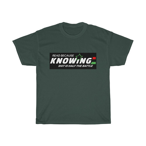 Royyale - Knowing Unisex Heavy Cotton Tee