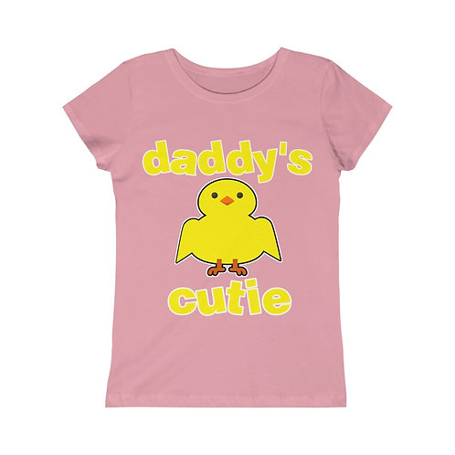 Royyale - Daddy's Cutie Girls Princess Tee