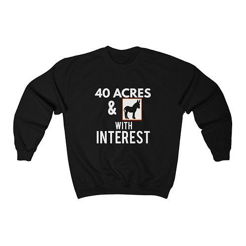 Royyale - With Interest Unisex Crewneck Sweatshirt