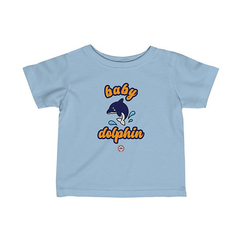 Royyale | Baby Dolphin Infant Fine Jersey Tee