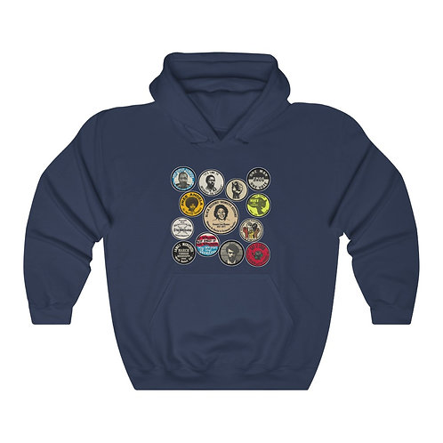 Royyale - Buttons Unisex Hoodie