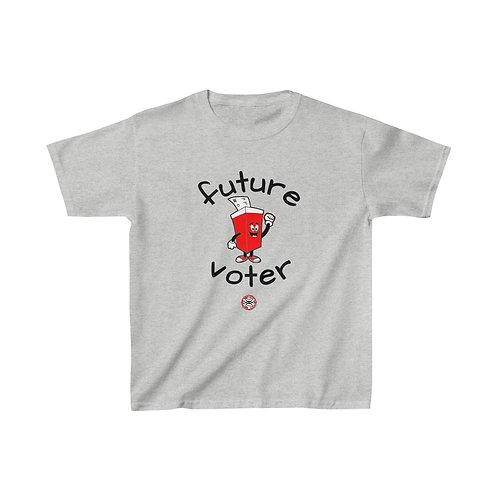 Royyale Gear Kids - Future Voter Kids Cotton Tee