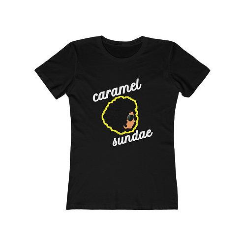 Royyale - Caramel Sundae v2 Women's Boyfriend Tee (Women's Slim Fit!)