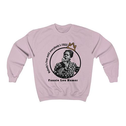 Royyale - Long Live Queen Fannie Unisex Crewneck Sweatshirt